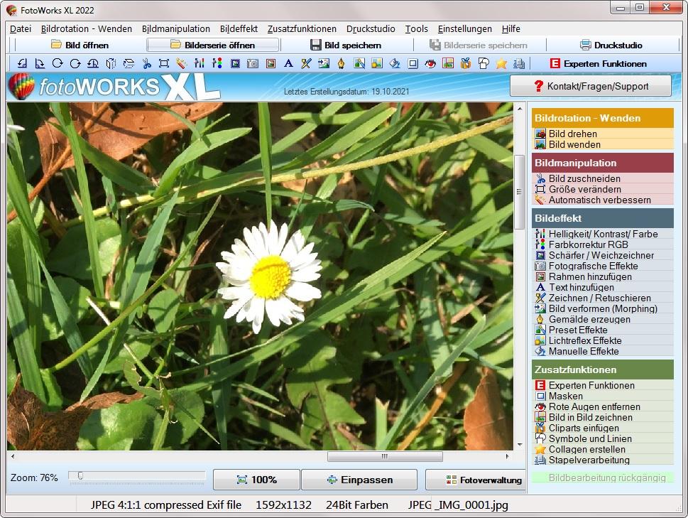 Bildbearbeitungsprogramm für Anfänger